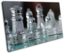 Glass Chess Pieces Hobbies - 13-1996(00B)-SG32-LO